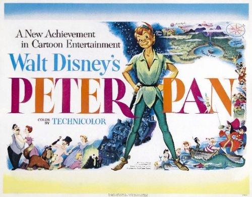 PETER PAN REPRODUCTIE FILM FOTO POSTER NO.2 16X12