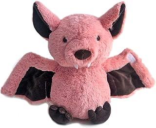 Rainlin Plush Bat Stuffed Animal Bashful Toys Furry Gifts for Kids Pink 11 inches