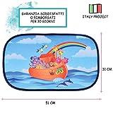 Ciaciu® Tendine Parasole Auto Bambini 2a Generazione Elettrostatiche Senza Ventose, Unive...