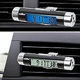 Mioloe Digital LED Reloj de Coche Termómetro Electrónico T