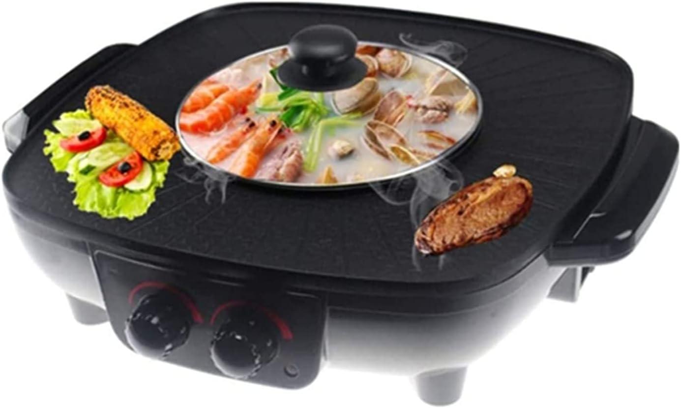 Nonstick Electric Skillet Integrated Cooker Hot P Pot Ultra-Cheap Deals Gorgeous