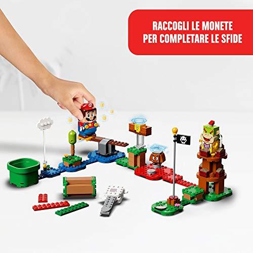 LEGO Super Mario Starter Pack Costruibile per il Percorso di base Avventure con Super Mario, Giocattolo e Idea Regalo per Bambini (231 pezzi), Modello 71360