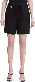 Calvin Klein Women's Linen Shorts with Belt