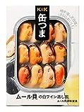 K&K 缶つまレストラン ムール貝の白ワイン蒸し風 95g