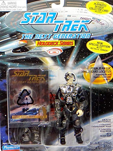 PlayMates Captain Picard als Locutus of Borg - Actionfigur - Star Trek The Next Generation