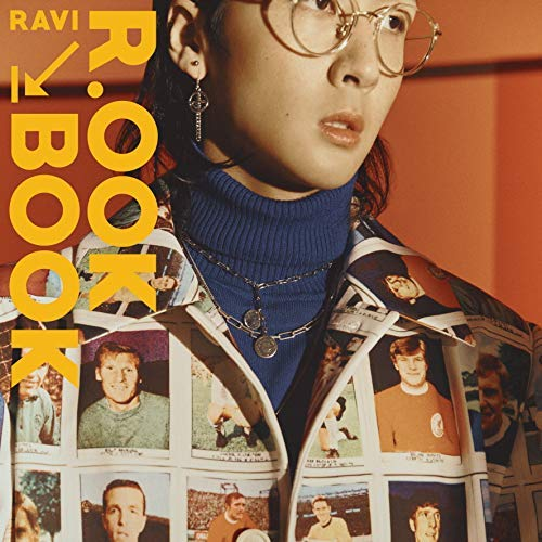 Jellyfish Entertainment Ravi VIXX - R.OOK Book (2nd Mini Album) CD+96p Photobook+Tag Card+1Photocard+Accordion Book