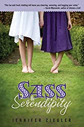 Sass & Serendipity book cover, a YA Sense and Sensibility Retelling