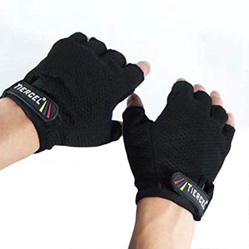 BLACK Weightlifting gloves womens SIZE MEDIUM. Sport gloves for