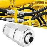 Accesorios de tubería Conector neumático de Perilla rápida Acoplador Reductor Acoplador de Aire...