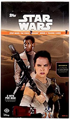 2015 Topps Star Wars The Force Awakens SERIES 2 Hobby Box New Factory Sealed 24 packs by SW TFA