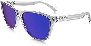 9a242527ed263 Oakley FROGSKINS OO9013 05 Transparente Lente Violeta Iridium Tam 55