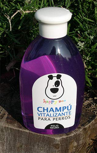 Happy Zoo Champú Vitalizante Pelo Negro 500 ml