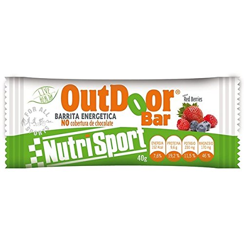 Nutrisport Outdoor Barrita Energética 20 x 40g Frutos Rojos