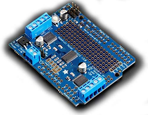 Adafruit Motor/Stepper/Servo Shield for Arduino v2.3 Kit by Adafruit