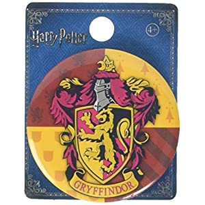Harry Potter - Gryffindor Button Pin Novelty Accessory,Multi