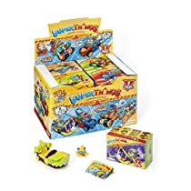 SUPERTHINGS RIVALS OF KABOOM SPY SERIES - Display de 8 Spy Jets con figuras