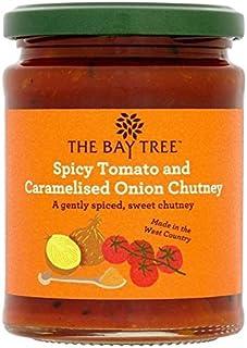 The Bay Tree Tomate Picante Y Caramelizada 285g Chutney De Cebolla (Paquete de 2)