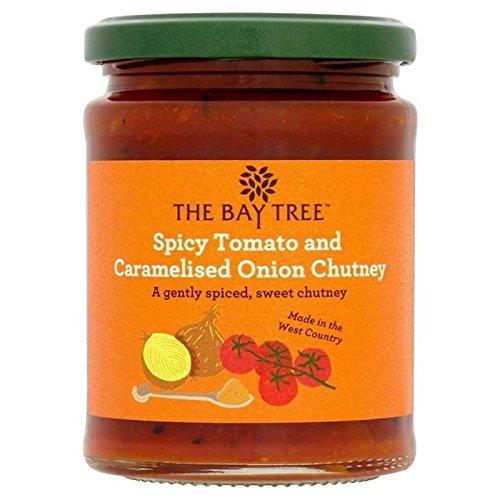 The Bay Tree Tomaten Piquant und Zuckerstangen 285g Marmelade von Zwiebeln (6Stück)