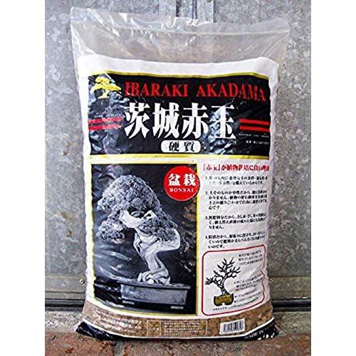CERTRE Akadama Hard Quality Ibaraki Lt. 14 - Grano Fine-Medio (3-7 mm) Bonsai Piante (Japan) (Substrato Giapponese Neutro)