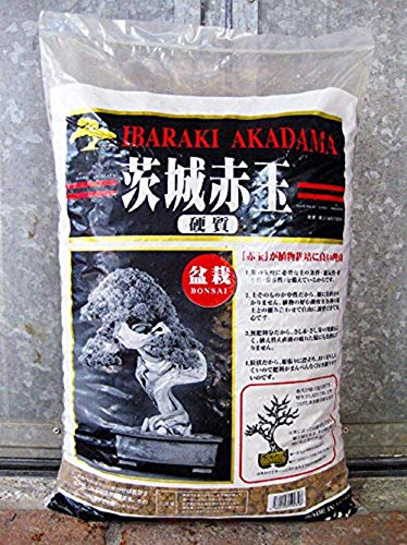 CERTRE Akadama Hard Quality Ibaraki Lt. 14 - Grano Fine-Medio (3-7 mm) Bonsai Piante (Japan) (Substrato Giapponese Neutro)
