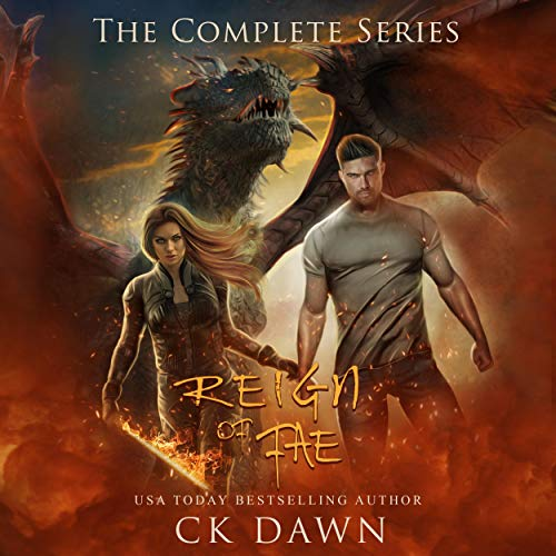 Reign of Fae Audiobook By CK Dawn cover art