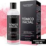 Tónico Facial con Agua de Rosas + Vitamina B5 + Niacinamida- Sin Fragancia-Sin Alcohol Etílico-97% Ingredientes Naturales - Equilibra el PH , Limpia Sin Resecar, Suaviza e Hidrata- Mejora Tu Piel -...