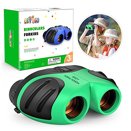 EUTOYZ Outdoor Toys for 6 7 8 9 10 Year Old Boys, Binoculars for Kids...