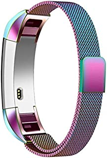 ETbotu Magnetic Stainless Steel Watch Band Strap for Fitbit Alta/Alta HR