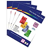 200 Sheets of 230gsm A4 Single-Sided Matte Photo Paper for Inkjet Printers