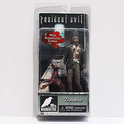 Action Figure Resident Evil Zombie Hund Hank Gasmaske Modell-bewegliches Gelenk Puppe Toy Collection Animierte Figur Statue Home Decoration -16cm B