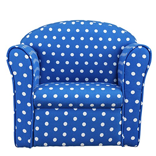 1home Kids Polka Dot Armchair