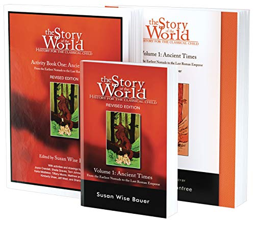 Compare Textbook Prices for Story of the World, Vol. 1 Bundle: History for the Classical Child: Ancient Times; Text, Activity Book, and Test & Answer Key Story of the World 1 Edition ISBN 9781945841729 by Bauer, Susan Wise