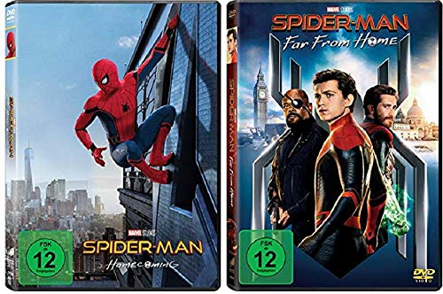Spider-Man Homecoming + Spider-Man Far From Home [DVD Set]