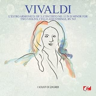 L'Estro Armonico, Op. 3, Concerto No. 11 in D Minor, RV 565