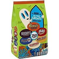 Hersheys Bulk Halloween Chocolate Candy, 5lbs bag (250 Pieces)