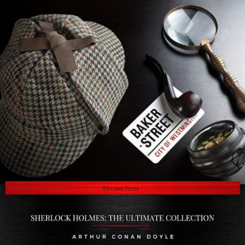 Page de couverture de Sherlock Holmes - The Ultimate Collection