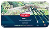 Derwent Artists - Lpices de colores (72 colores de madera, en estuche de metal)