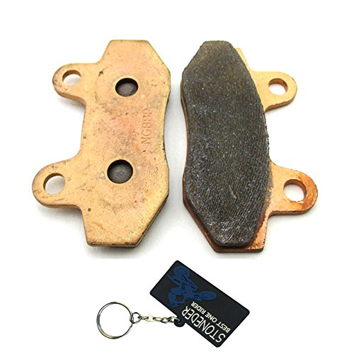 stoneder cobre disco de freno Caliper Pads Heavy Duty zapatos para 50cc...