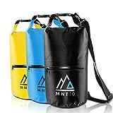 MNT10 Drybag 10l Packsack wasserdicht mit Tragegurt I Dry Bag Waterproof I wasserdichte Tasche für Reisen, Outdoor und Camping I Seesack wasserdicht und...