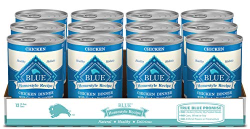 Blue Buffalo Homestyle Recipe Natural Adult Wet Dog Food for Pugs