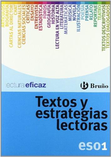 Textos y estrategias lectoras 1 ESO (Castellano - Material Complementario - Textos Y Estrategias Lectoras) - 9788421660256