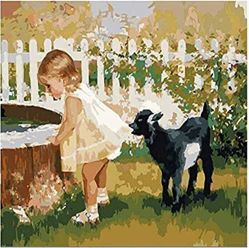 Houten puzzels 1000 tablettenDe foto van de meisjeshond op wijnoogst 75x374cm volwassen kinderen creatief speelhuis woondecoratie