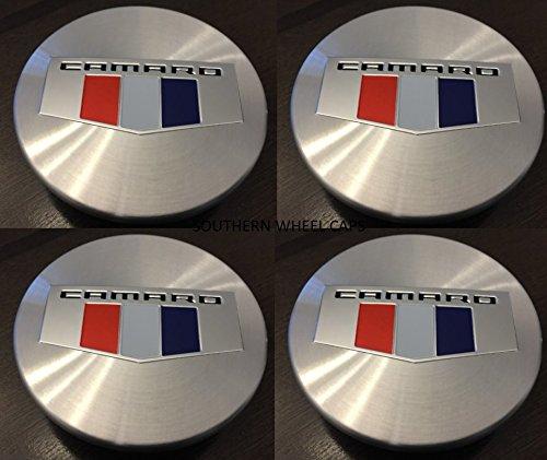 4pcs SET 2016-2018 Chevy Camaro Center Wheel hub Caps Set of 4 SILVER 19351757 -  JDM WORLD
