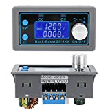 DC‑DC Buck‑Boost Converter Module Anti‑backflow Componentes electrónicos CC‑CV Regulador de voltaje Pantalla LCD