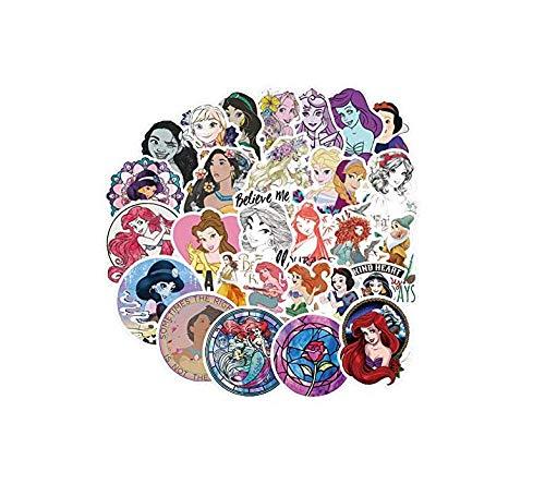 votgl Princess cartoon stickers voor kinderen speelgoed bagage skateboard telefoon op laptop fiets meisjes gitaar stickers f2 100 stuks