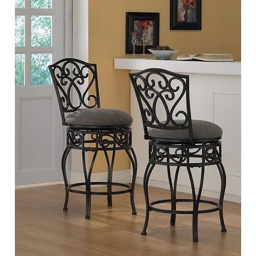 Remarkable Wrought Iron Bar Stools Amazon Com Customarchery Wood Chair Design Ideas Customarcherynet