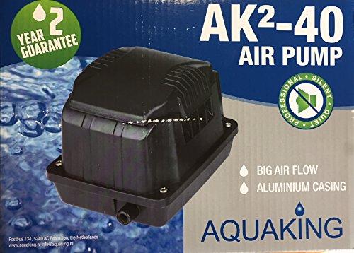 Aquaking Luftpumpe AK²40 Koiteich Belüftung Aquarium Sauerstoffpumpe