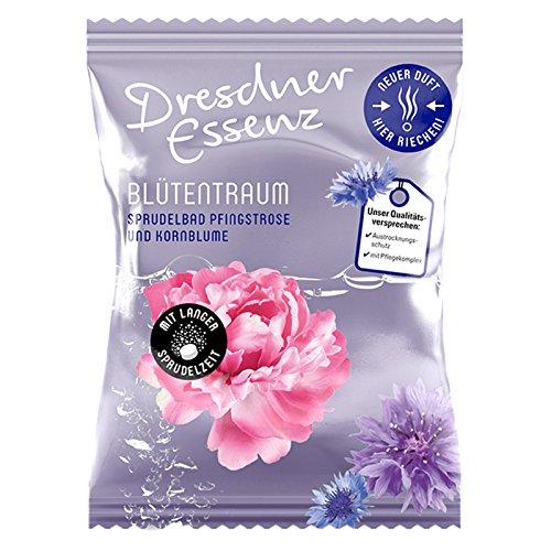 10er Pack Dresdner Essenz Sprudelbad Blütentraum Badezusatz, Sprudeltablette, Pflegebad