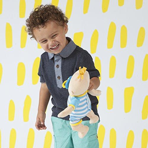 マンハッタンおもちゃ赤ちゃんステラ男の子ソフト初心者用赤ちゃん人形1歳以上、15インチ。