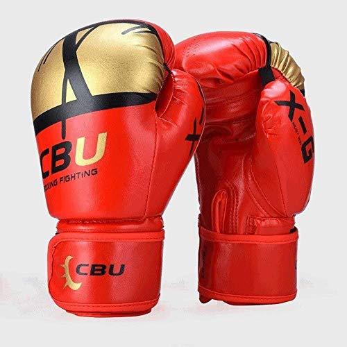 Männer und Frauen kämpfen Muay Thai Boxen Sandsäcke Praxis Handschuhe schwarz 10 Unzen erwachsenen Boxhandschuhe professionelle Handschuhe dauerhaft atmungsaktiv verschleißfeste reißfeste Boxhandschuh